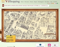 La home page del sito vishopping.it