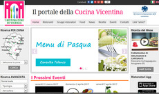 RISTORATORIDIVICENZA.IT METTE ON LINE I MENU DI PA